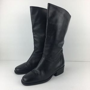 Naturalized Tall Black Boots